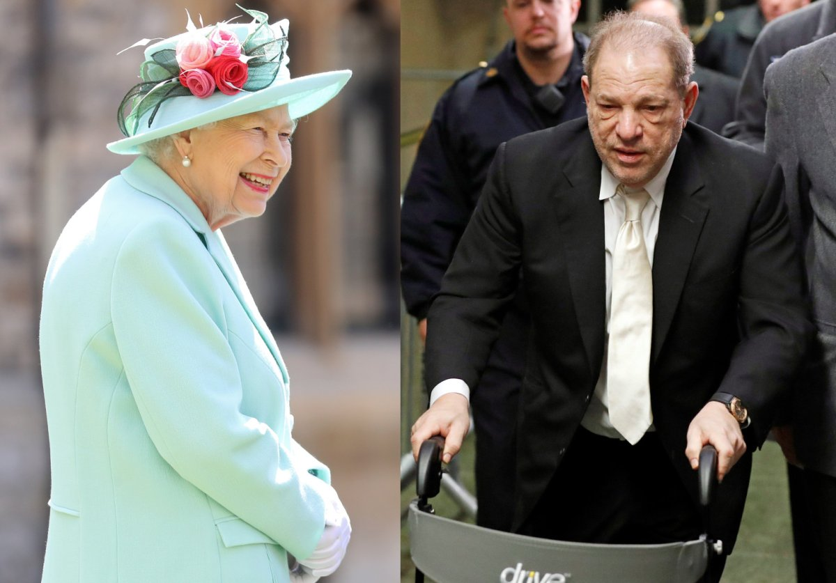 Queen Elizabeth, Harvey Weinstein