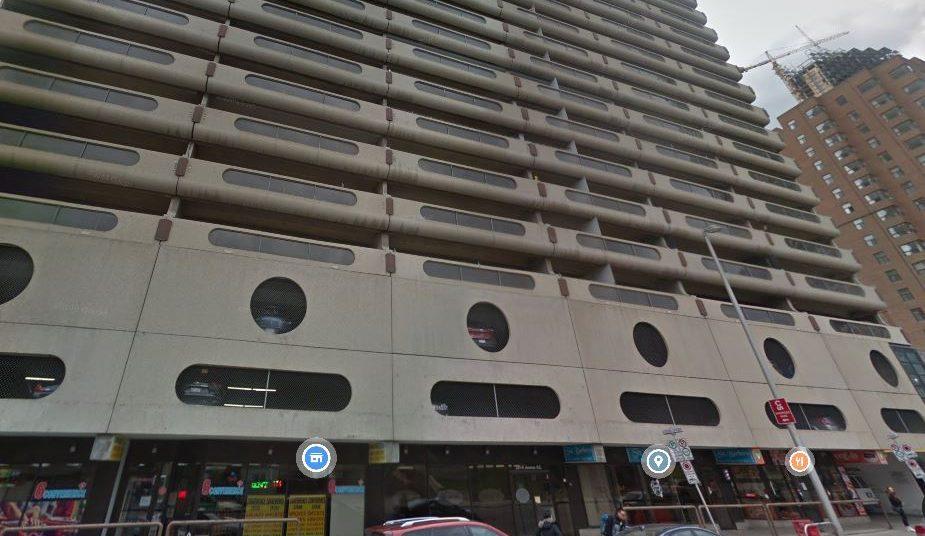 Rocky Mountain Court Apartments as seen through Google Street View.