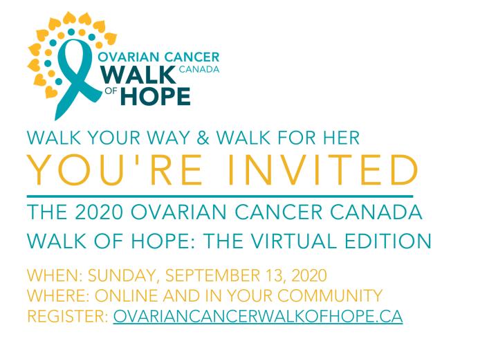 Ovarian Cancer Canada Walk Of Hope Peterborough Globalnews Ca