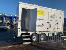 Continue reading: Boyle Street offers mobile shower facilities to those living rough in Edmonton