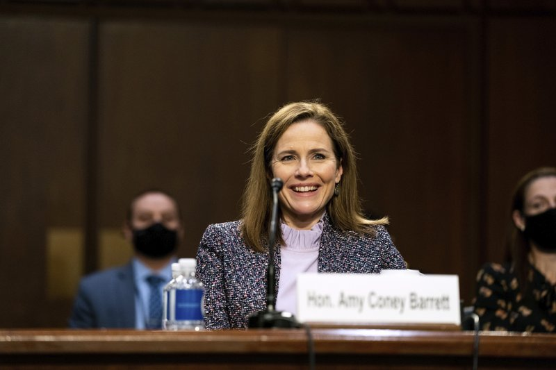 U.S. Senate to hold rare weekend session to secure Barrett's spot on Supreme Court