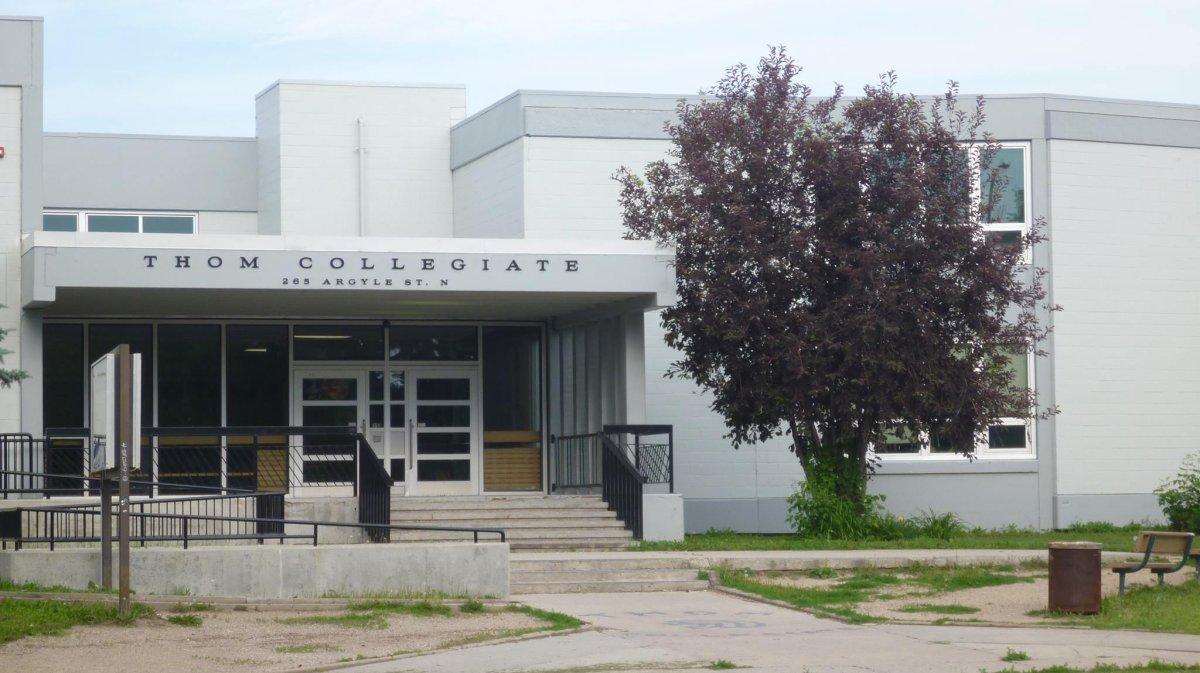 Thom Collegiate in Regina.