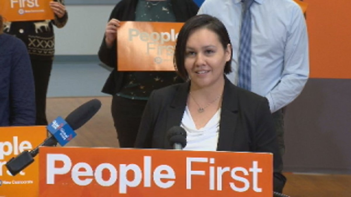 Sask. NDP candidate for Saskatoon Riversdale Ashlee Hicks.