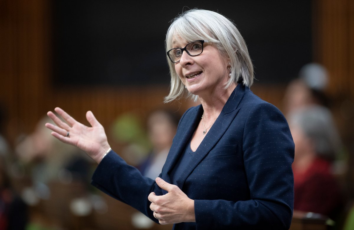 Minister of Health Patty Hajdu responds to a question during Question Period in the House of Commons, Thursday, October 22, 2020 in Ottawa.