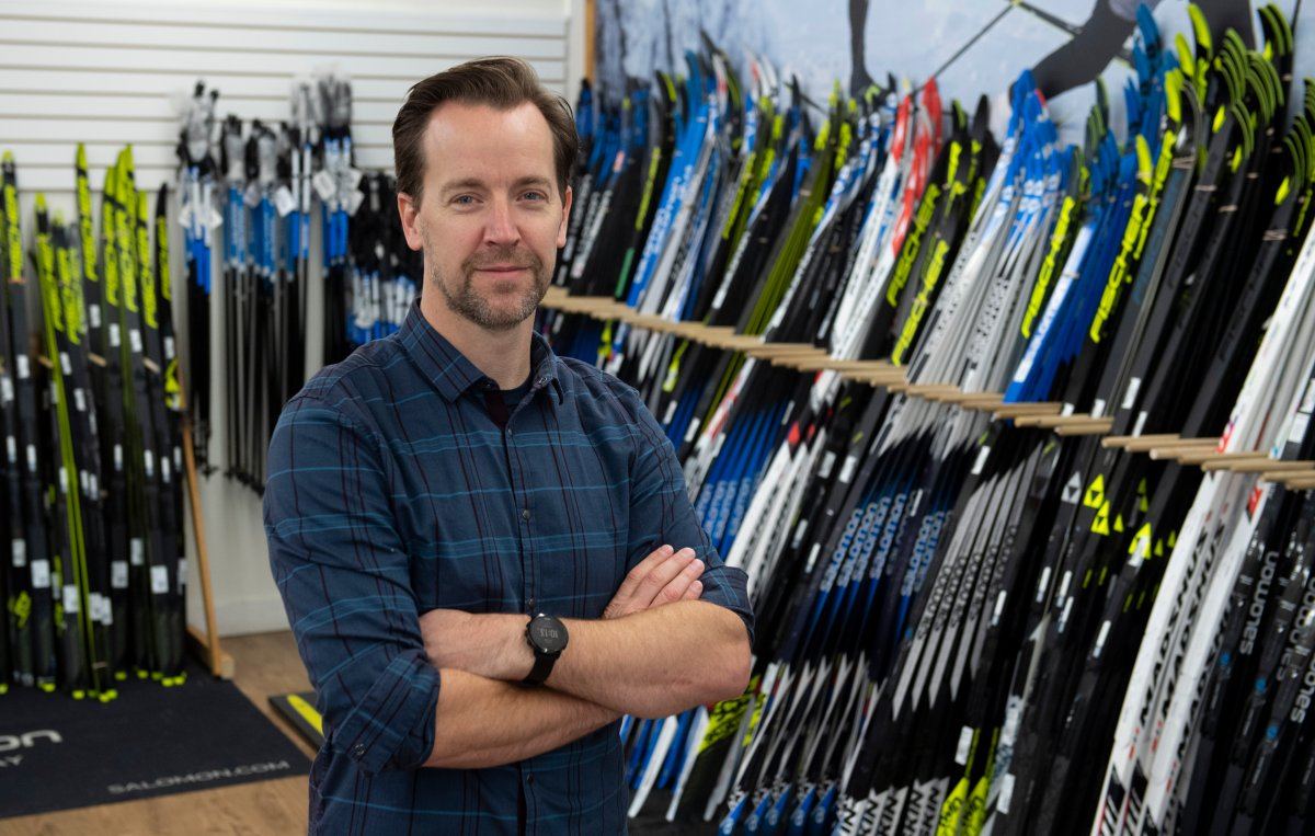 Fresh Air Experience owner Jon Digney poses for a photo in his store Friday October 23, 2020 in Ottawa.