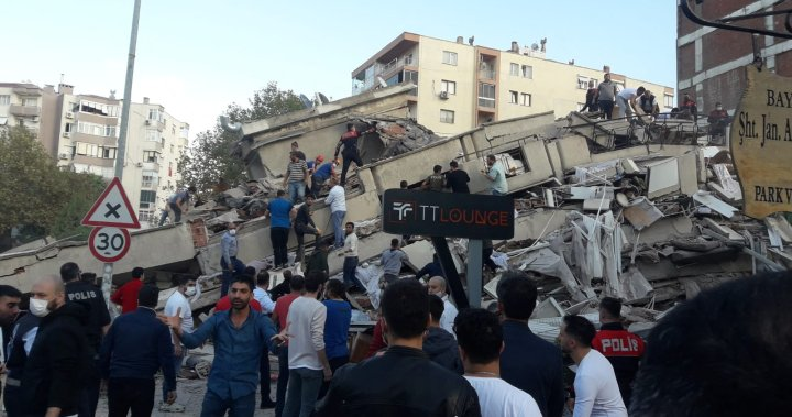 4 dead after 7.0 magnitude earthquake rattles Turkey, Greece coast: officials