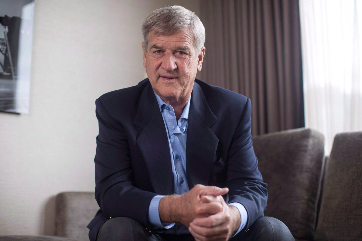 "Bobby Orr is pictured in a Toronto hotel room as he promotes his new book ""Bobby: My Story in Pictures,"" on Monday, October 29, 2018."