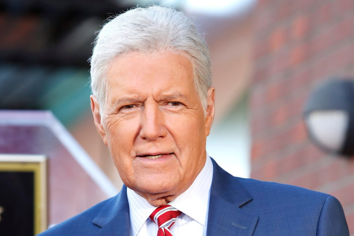 Game show host Alex Trebek helped the Ottawa Senators ring in the No. 3 pick in the 2020 NHL draft.