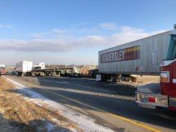 Continue reading: One dead after 3 semis crash on Circle Drive: Saskatoon police