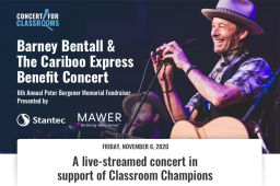 Continue reading: Global Calgary, Global News Radio 770 CHQR and Global Edmonton support: Concert for Classrooms with Barney Bentall & The Cariboo Express and Friends