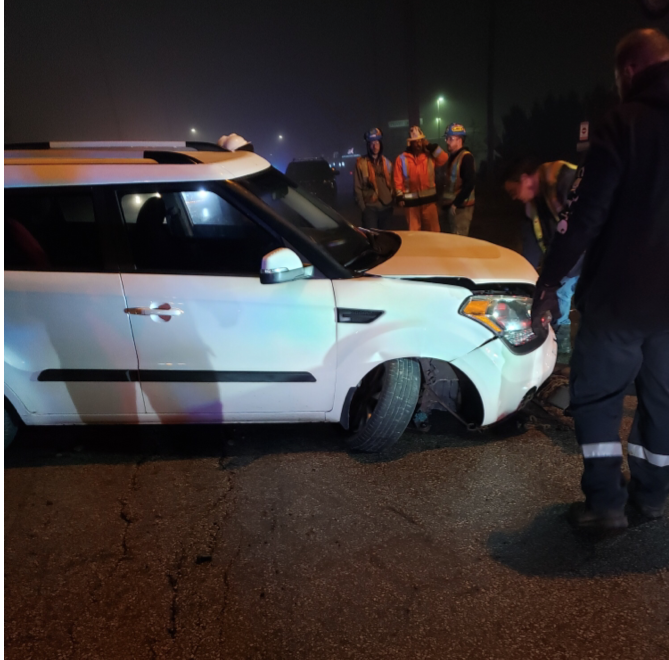 South Simcoe police say they're investigating after an abandoned vehicle was hit by a Go train in Innisfil, Ont., during the early morning hours of Friday.