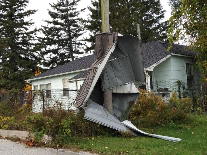 Environment Canada has confirmed that a tornado touched down in Thornbury, Ont., on Friday.