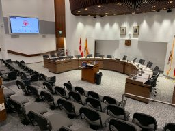 Continue reading: Saint John council reunited in newly-renovated chambers