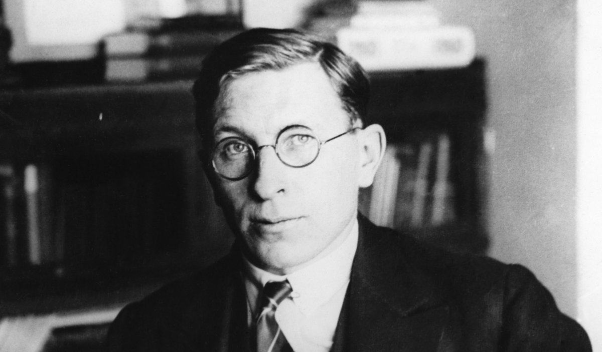 Sir Frederick Banting. He shared the 1923 Nobel Prize for medicine or physiology for his discovery of insulin.