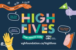 Continue reading: 980 CKNW and Global BC Support VGH & UBC Hospital Foundation High Fives for Health Care Workers