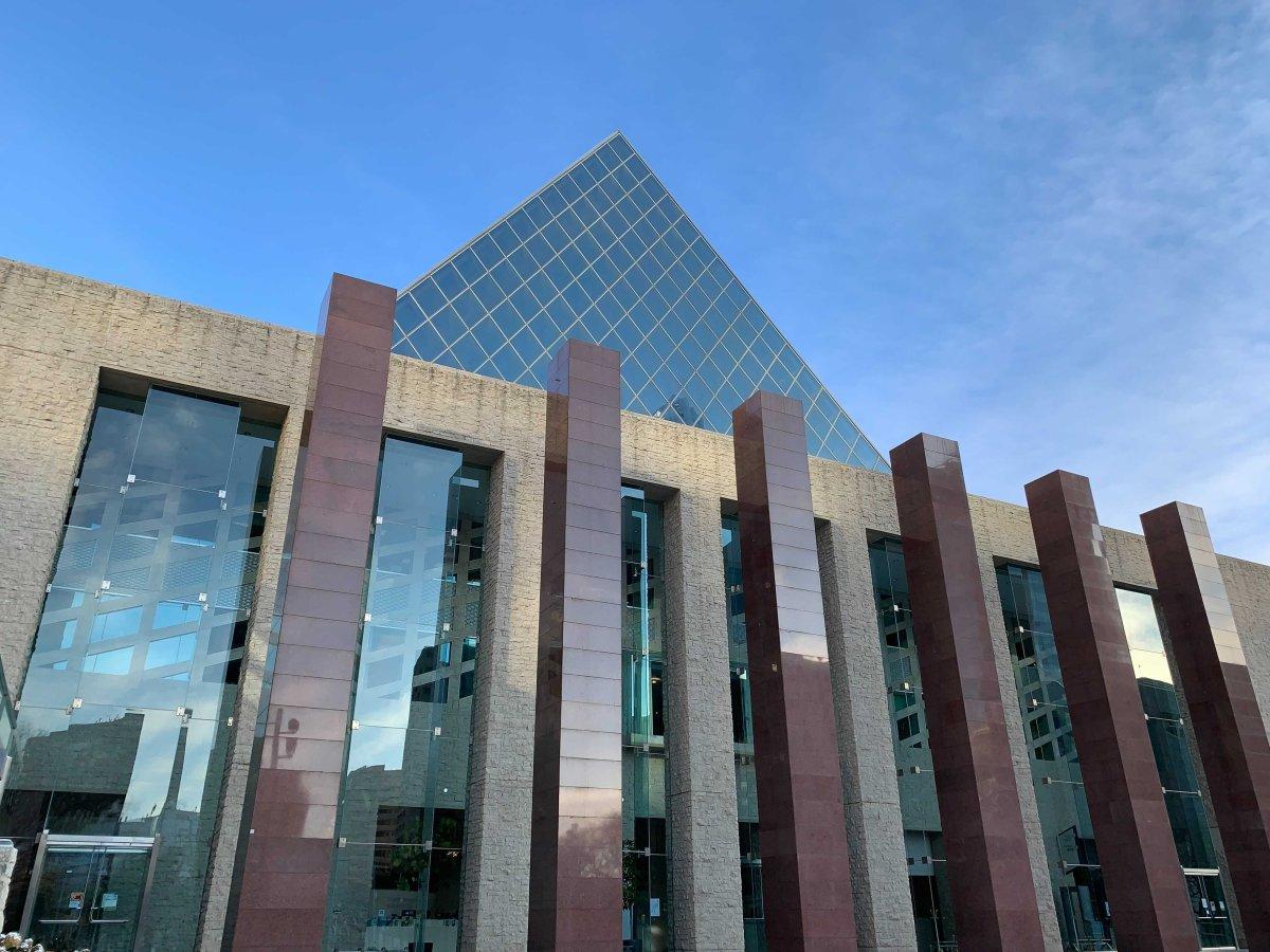 Edmonton City Hall pictured on Tuesday, Oct. 20, 2020.