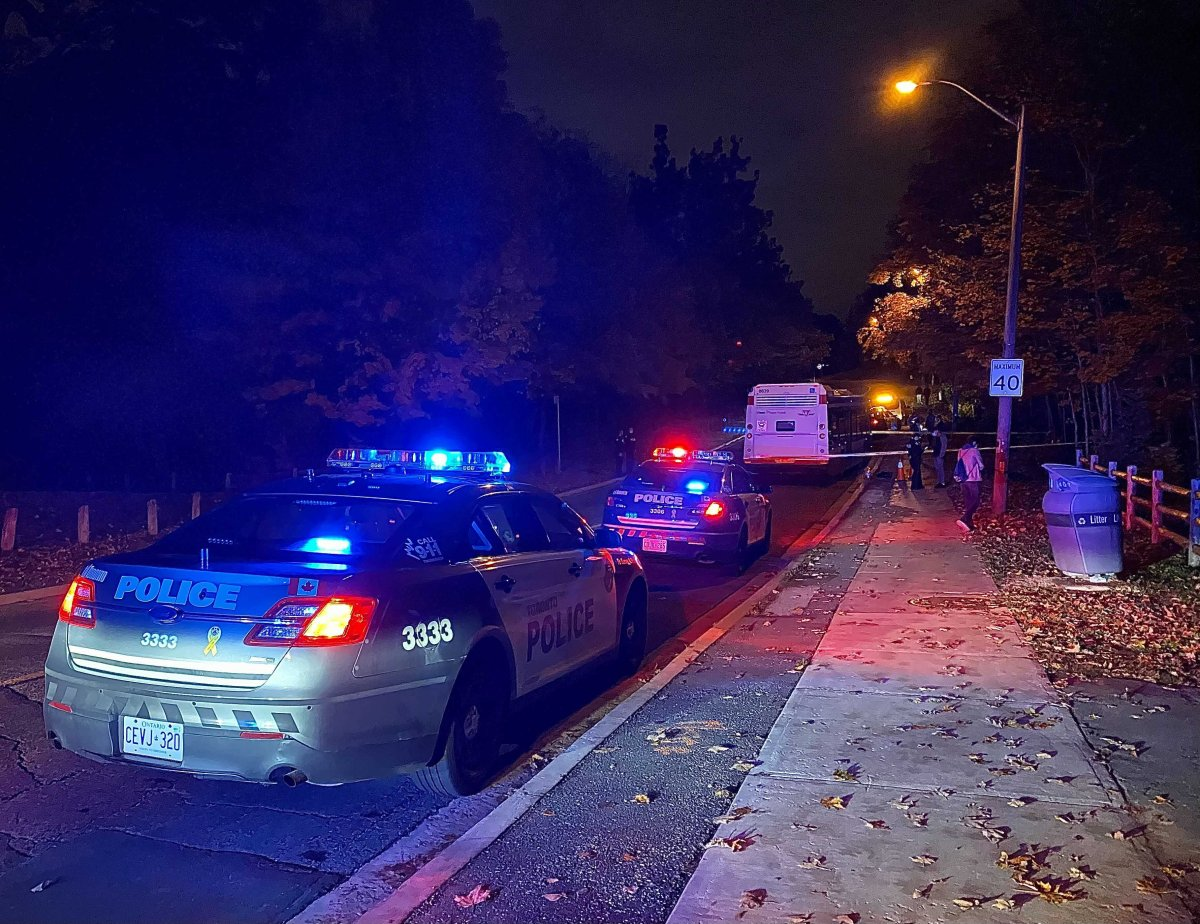 Police said they were called to the area of Valley Woods Road and Brookbanks Drive Tuesday evening.