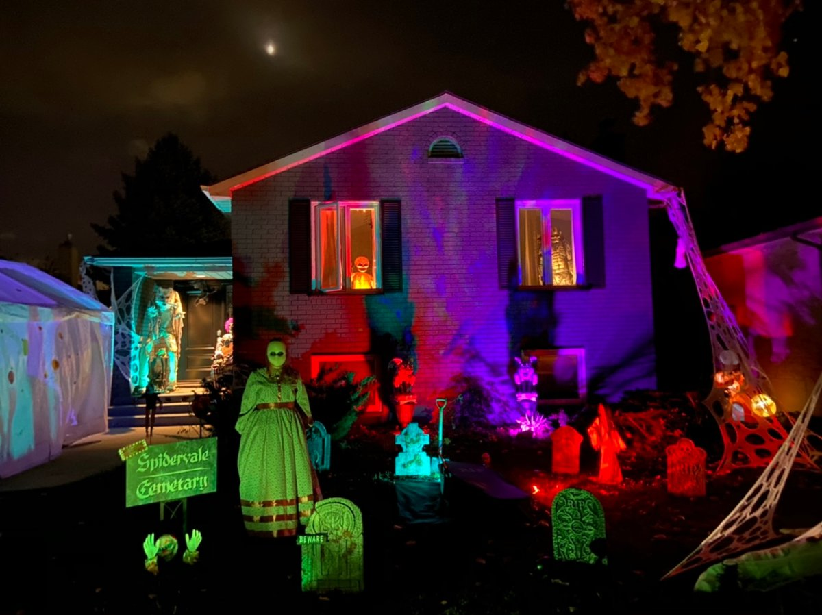 This home at 16 Blanchard Crescent is among those featured in the 2020 Halloween Map for London and area.