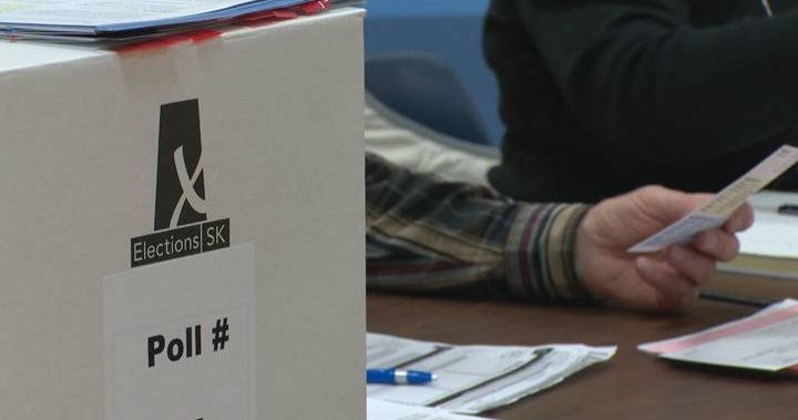 Some parents raise concerns over schools being used as polling stations in Saskatchewan election