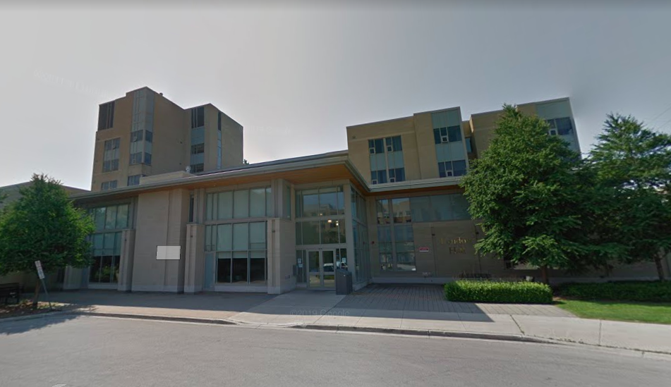 In a statement, the university says it has moved some close contacts to a quarantine location and is notifying students living in London Hall.