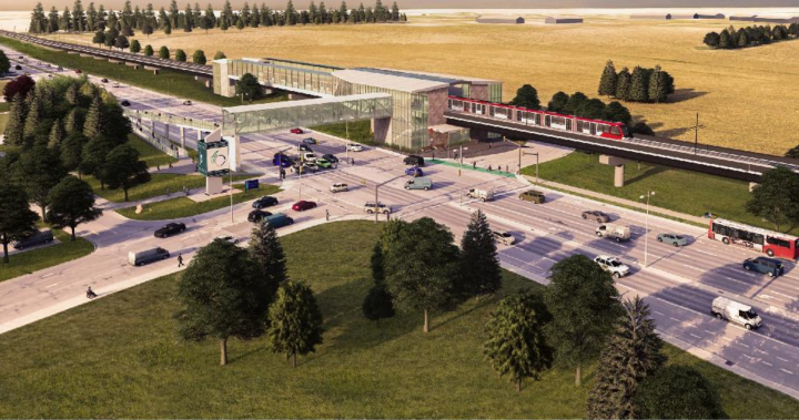 Proposed Barrhaven extension for Ottawa LRT priced at $3B