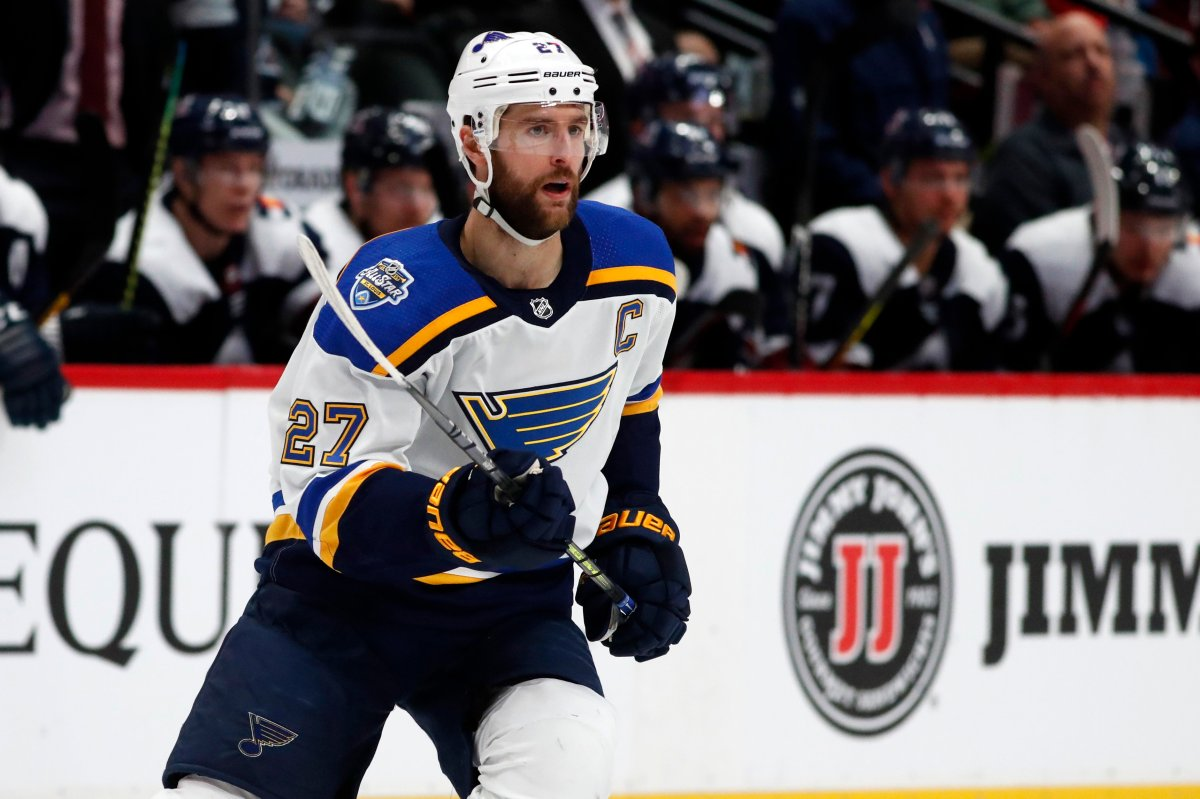 St. Louis Blues defenseman Alex Pietrangelo headlines a group of highly sought after free agents.