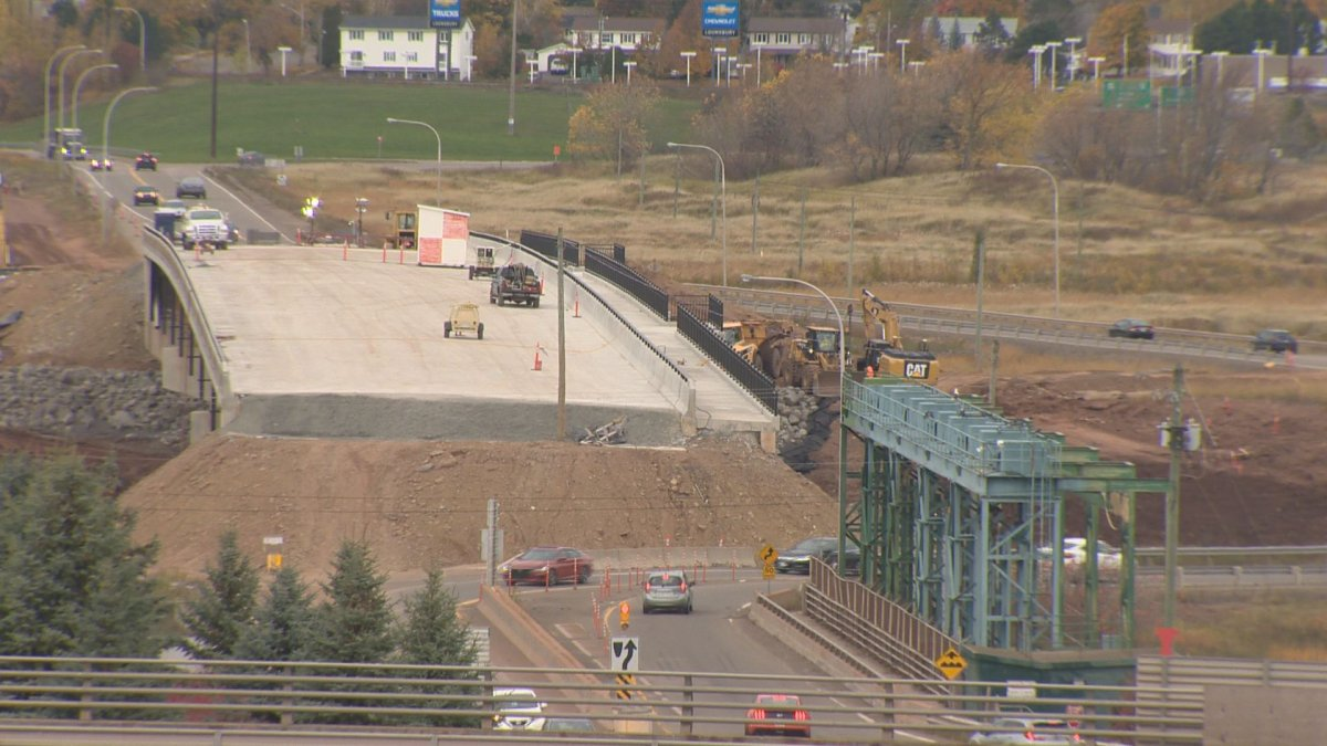 The causeway connecting Moncton to Riverview is expected to close for six months starting May 1, 2021 while work is finished on a new bridge.