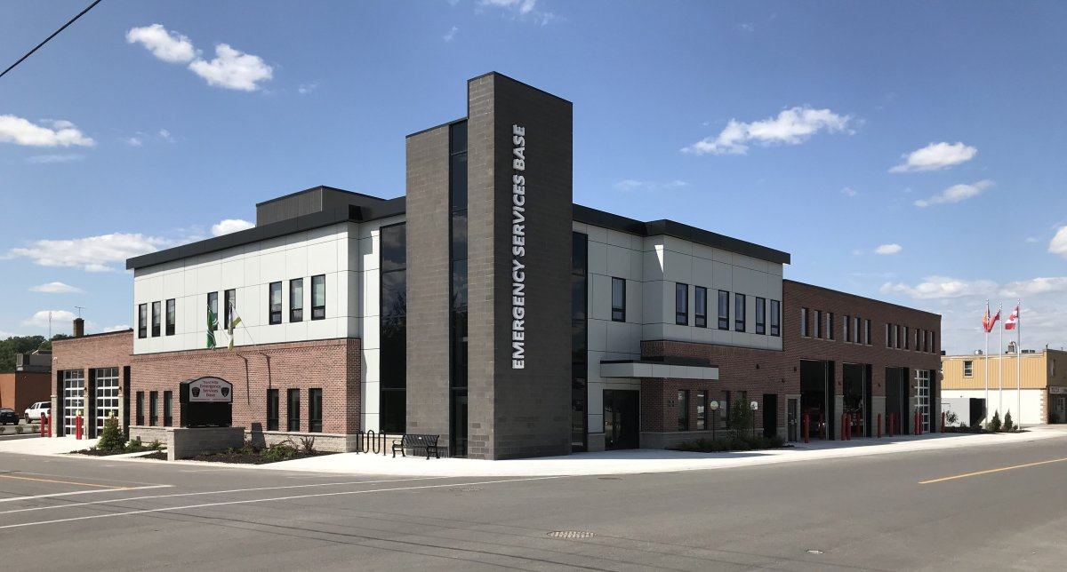 The new Trent Hills Emergency Services facility in Campbellford.