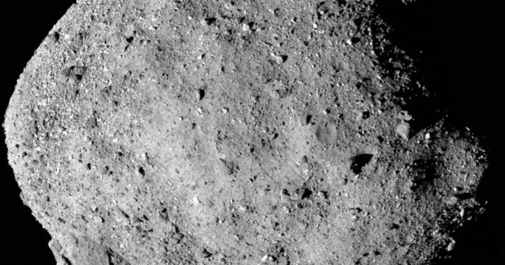 NASA spacecraft grabs rock from speeding Bennu asteroid in historic first