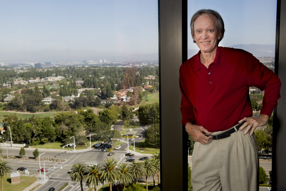 Investment manager Bill Gross is shown at his office in Newport Beach, Calif., on Oct. 31, 2018.