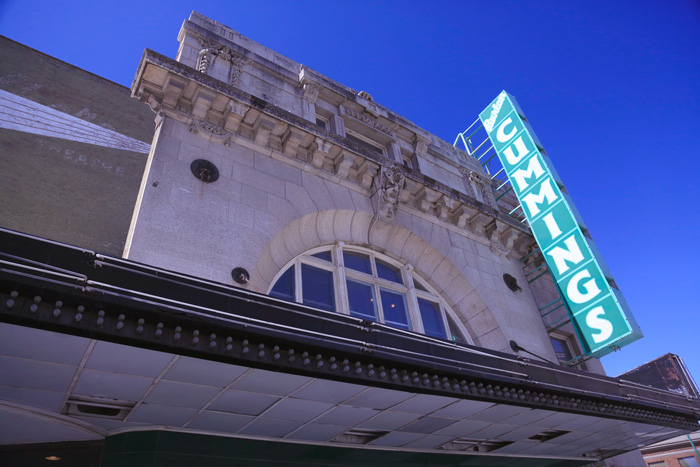 The historic Burton Cummings Theatre is one of the stops on the Downtown Winnipeg Ghost Ride.