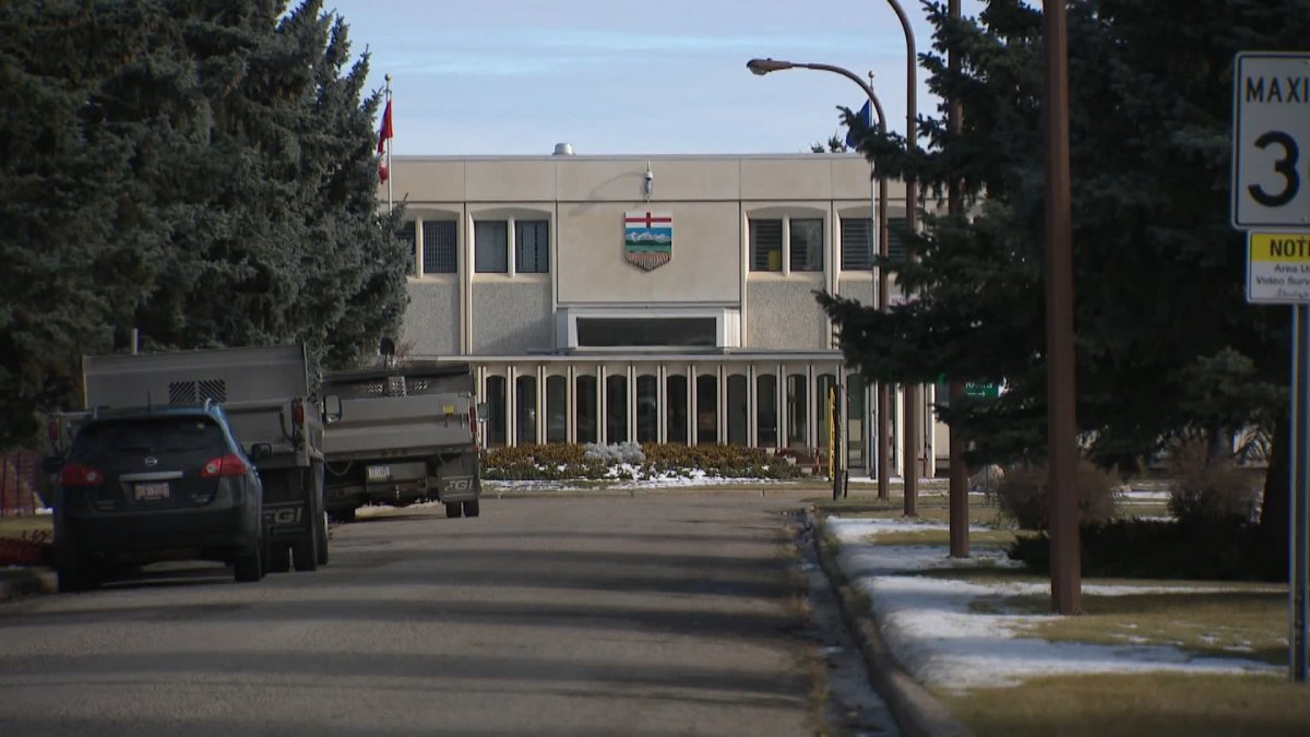 The Calgary Correctional Centre in Calgary.