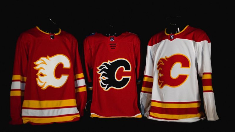 The Calgary Flames are returning to the classic look they skated with from the team's inaugural season in Calgary to the mid-90s.