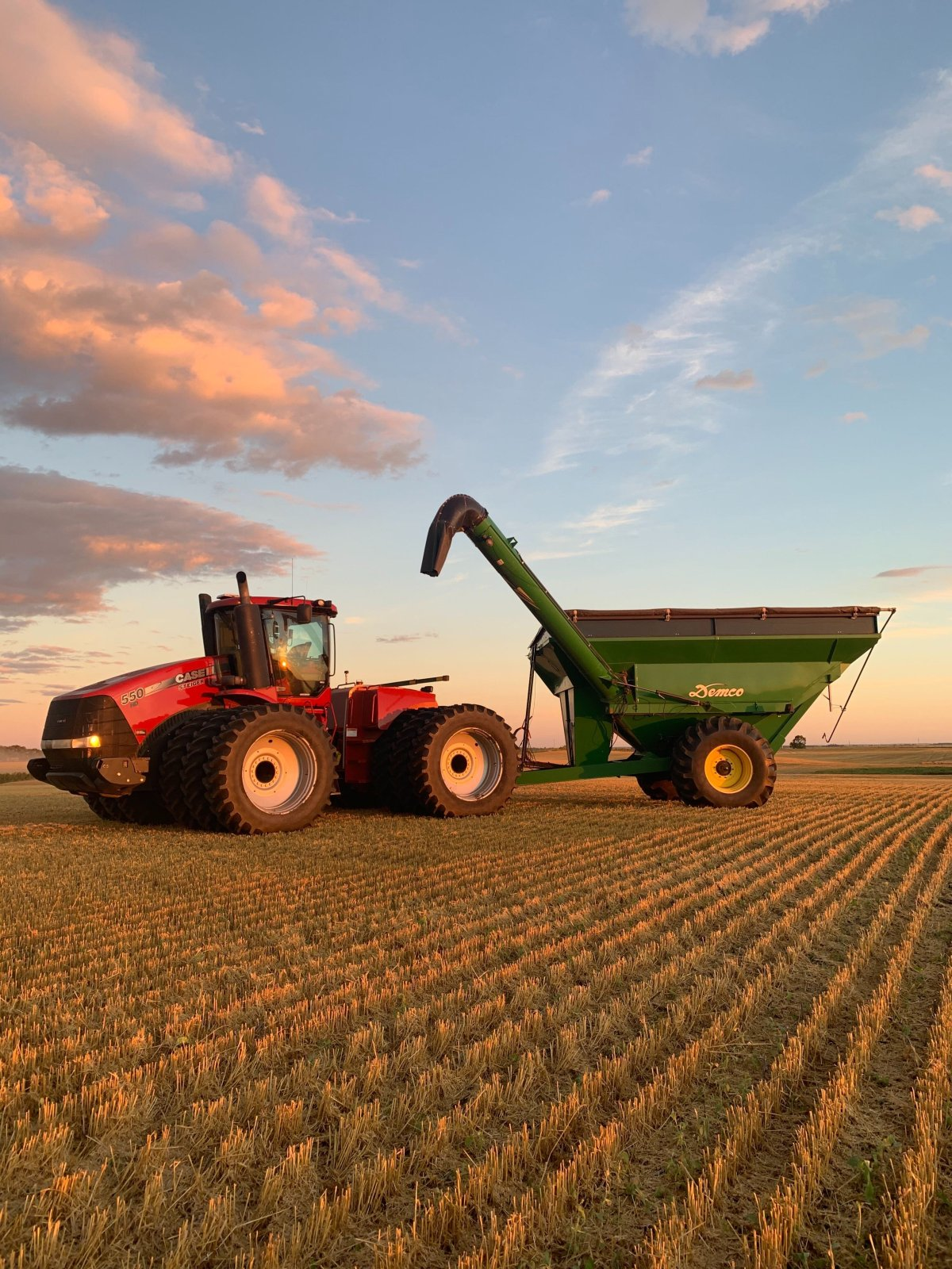 This week could be one of the last we see equipment like this in Manitoba's fields, according to Dane Froese of Manitoba Agriculture.