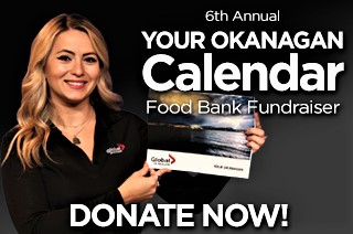 YOUR OKANAGAN CALENDAR – Food Bank Fundraiser 2020