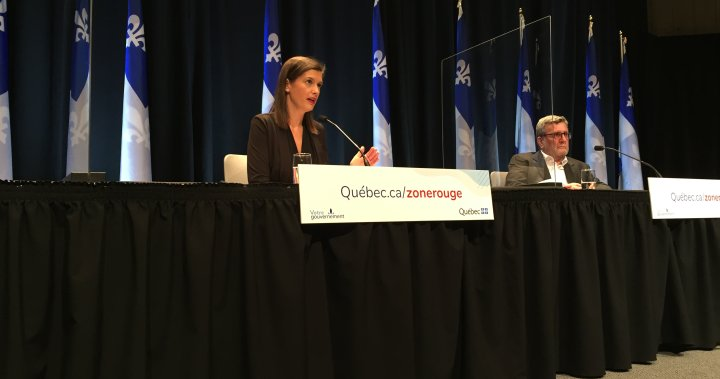 Quebec City will lose health-care services if people don't respect COVID-19 rules: Guilbault