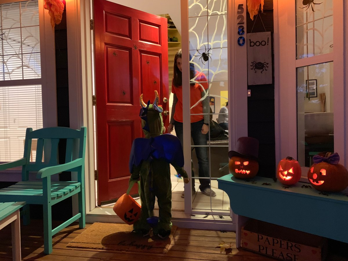 Interior Health is reminding people to trick or treat in small groups, hand out candy from a distance and not attend any parties to ensure COVID cases don't spike this Halloween season.