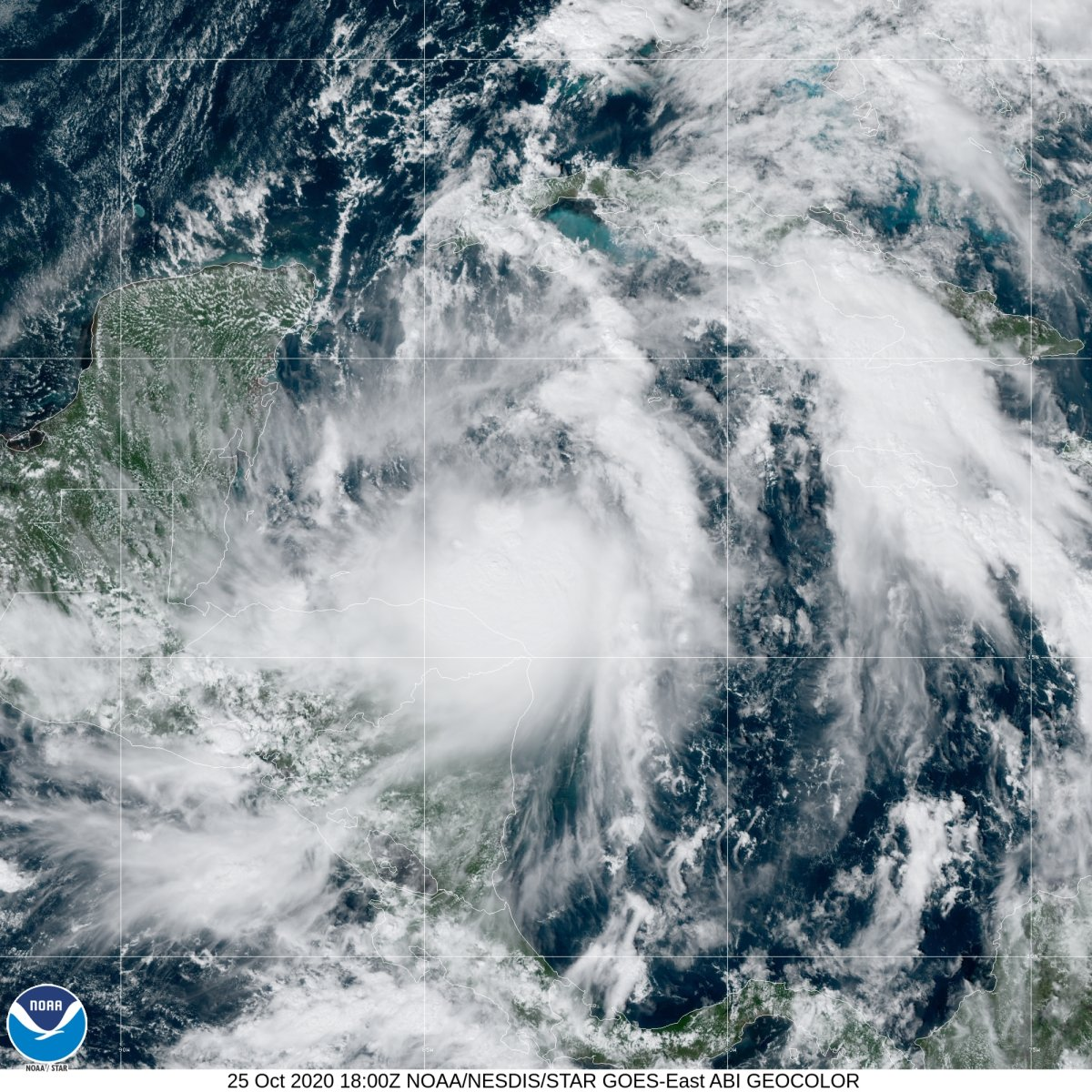 Tropical Storm Zeta.