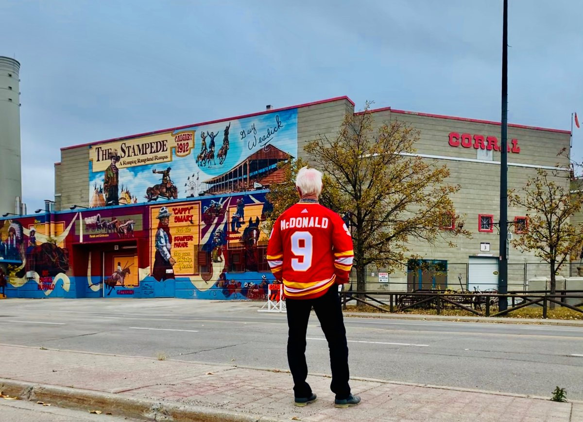 Hockey legend Lanny McDonald played countless games at the Stampede Corral as a visitor and a Flame. Forty years after the NHL team's arrival in Calgary, he's sharing some of his favourite memories of one of pro hockey's most unique arenas.