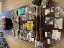 Continue reading: RCMP arrest 4 after seizing drugs and firearms in Prince William, N.B.