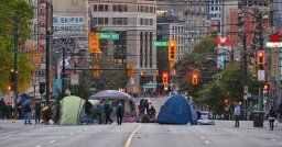 Continue reading: Four arrests after homelessness, anti-police brutality activists occupy Vancouver intersection