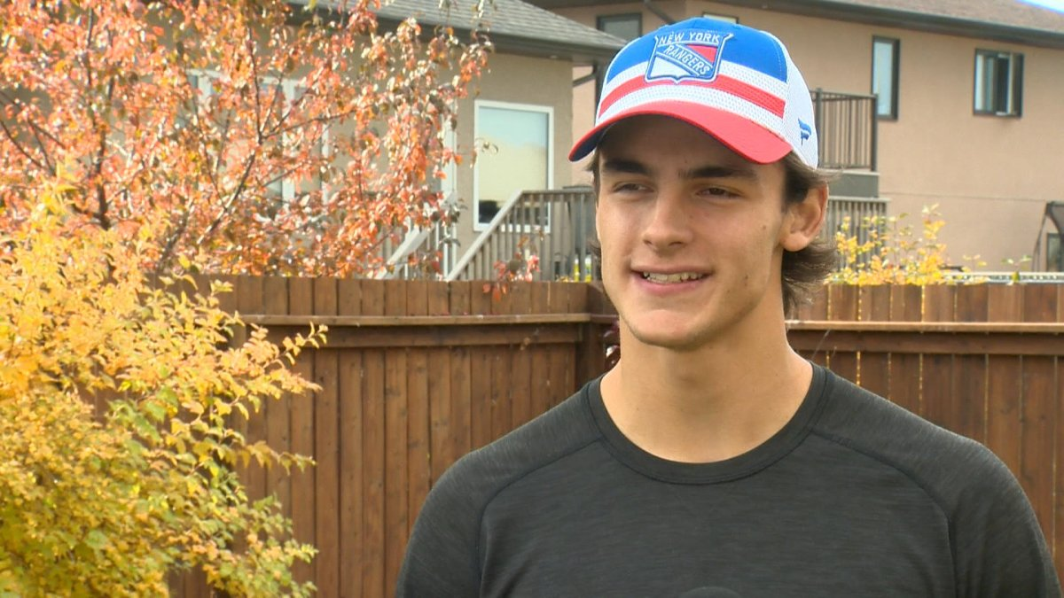 Braden Schneider was selected 19th overall by the New York Rangers in the 2020 NHL Entry Draft.