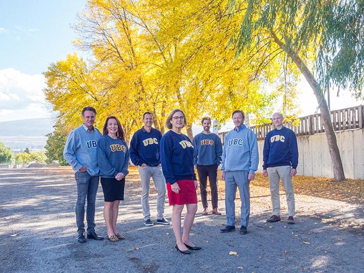 UBC Okanagan announced a $1-million donation given by the Stober family on Thursday.