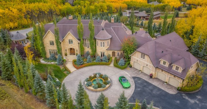 Alberta mansion valued at $15M to hit real estate auction in November