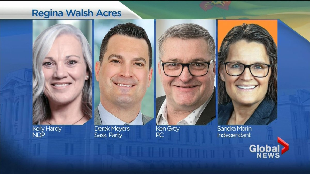 The new MLA to represent the Regina Walsh Acres riding is Derek Meyers.