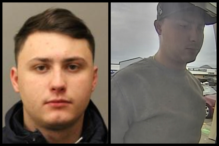 Wyatt Reader, 21, is wanted on Canada-wide warrants for assault causing bodily harm, uttering threats, forcible confinement and five counts of failing to comply with court orders, police said.
