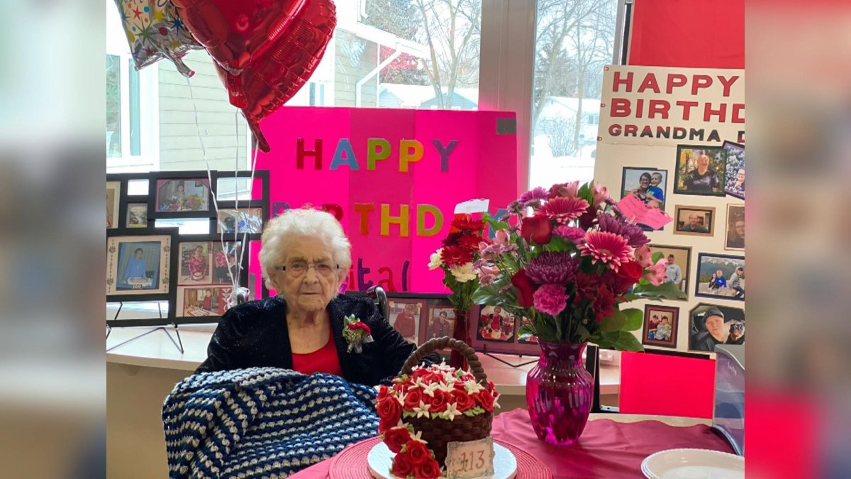 Reita Fennell celebrated her 113th birthday on Friday.