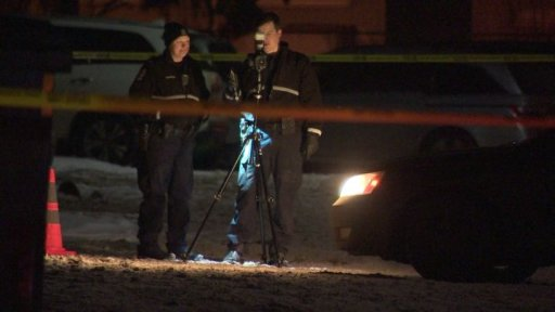 Edmonton police were investigating what they called a suspicious death in the area of 121 Street and 146 Avenue on Tuesday night.