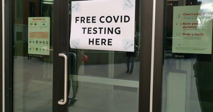 Nova Scotia opens pop-up COVID-19 testing in Dartmouth