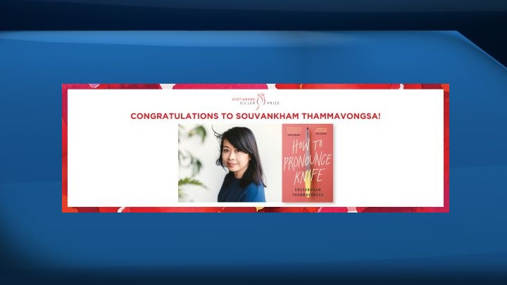 """Souvankham Thammavongsa has won the 2020 Giller Prize for her book """"How to Pronounce Knife.""""."""